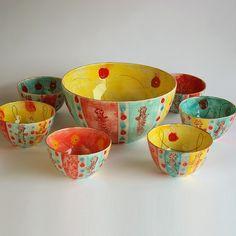 Custom Made Ceramic Serving Ware #horchow