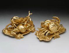 Pair of salts. Nicholas Sprimont (1713-1771). The Queen's Gallery. Букингемский дворец