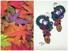 #simonarotaris #soutache #handmadejewelry #earrings #uhani #pendientes #ooak #örhängen #korvakorut #øredobber #oorbellen #øreringe #bouclesdoreilles #auskarai #náušnice #uhani