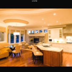 Open Concept Kitchen Concept Kitchens And Kitchen Living Rooms On