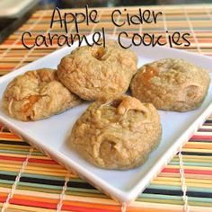 Apple Cider Caramel Cookies | Mom, What's For Dinner? whatsfordinner-momwhatsfordinner.blogspot.com