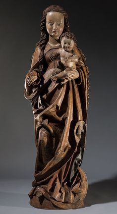 Circle of Gregor Erhart (c. 1465-1540) Virgin and Child Germany, Augsburg c. 1495