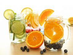 "Diaporama ""10 detox water pour garder la forme"" - Detox water aux agrumes"