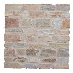 "EliteTile Biarritz Series 3"" x 6"" Ceramic Brick Look Subway Tile & Reviews | Wayfair Stone Mosaic Tile, Mosaic Glass, Natural Stone Veneer, Natural Stones, Exterior Cladding, Stone Exterior, Exterior Paint, Tile Trim, Wall Tiles"