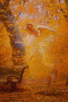 Victor Nizovtsev Tutt Art Art And Illustration, Fantasy Landscape, Fantasy Art, Victor Nizovtsev, Magic Realism, Angel Pictures, Angel Art, Sacred Art, Religious Art