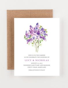Hey, I found this really awesome Etsy listing at https://www.etsy.com/listing/217308876/lavender-and-purple-floral-garden-save