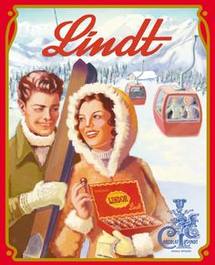 Not to miss when in Switzerland - Lindt chocolate