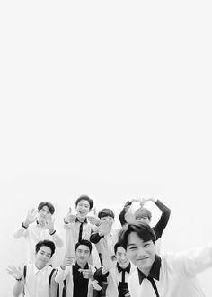 What a nice group photo of EXO! Baekhyun, Park Chanyeol, K Pop, Exo Group, Exo Official, Exo Lockscreen, Exo Korean, Best Kpop, Kpop Exo