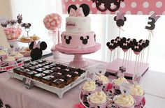 Minnie Mouse Birthday Party Ideas   Photo 3 of 15   Catch My Party