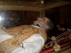 St John Bosco - Incorruptible.  http://en.wikipedia.org/wiki/Incorruptibles