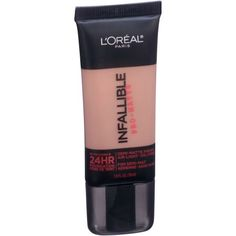 L'Oreal Paris Infallible Pro-Matte Foundation, 1 fl oz