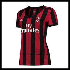 2102b85f Billige Fotballdrakter Dame · fotballtrøyer Dame AC Milan Hjemmedrakt, nye  fotballtrøyer AC Milan nettbutikk