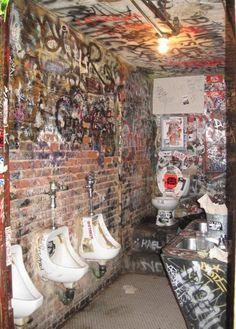 CBGB bathroom.... now gone.