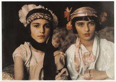 Indira and Amrita Singh Sher-Gil - 1924