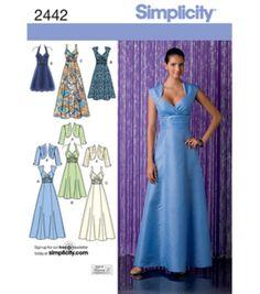 Simplicity Pattern 2442R5-Misses Special Occasion-Sz 14-22, , hi-res