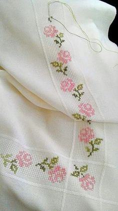 Thrilling Designing Your Own Cross Stitch Embroidery Patterns Ideas. Exhilarating Designing Your Own Cross Stitch Embroidery Patterns Ideas. Cross Stitch Rose, Cross Stitch Borders, Cross Stitch Alphabet, Cross Stitch Flowers, Cross Stitch Designs, Cross Stitching, Cross Stitch Patterns, Ribbon Embroidery, Cross Stitch Embroidery