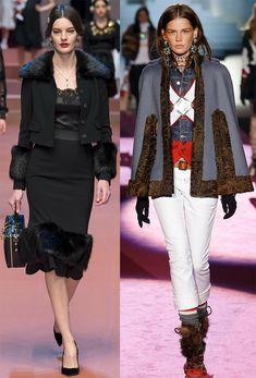 Осень-зима – сезон тёплых вещей, и мех, как нельзя, кстати, укроет вас и утеплит в прохладную погоду. Одним из трендов осенне-зимнего сезона 2015-2016 стала меховая отделка одежды, которая в новом сез…