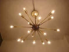 SPUTNIK STARBURST LIGHT ...