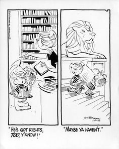 Library Lions