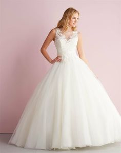 2014 Allure Bridals Robe de mariée sur http://www.espacemariage.com