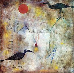 Paul Klee - Crow Landscape, 1925