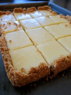 How to make creamy lime squares