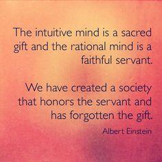 Einstein: The intuitive mind