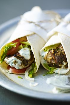 Marinade your lamb ahead of time and this tandoori wrap can be made in no time!
