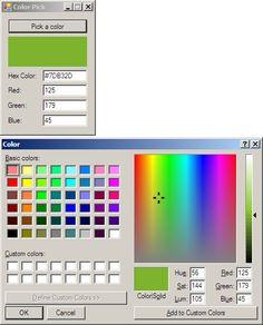 hexa color picker