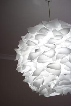 DIY Paper Lampshade