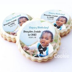 One of our all-time favs!  Custom image 1st Birthday!  Make some for your lil boy's next event!  Click the link in bio!  #1stbirthday #birthdayfavors…