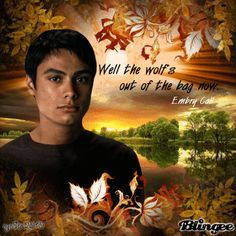 Well the wolf's out of the bag now - Embry Call (Kiowa Gordon), Twilight Saga (nyeSte*)