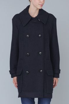 Isabel Marant Clover Coat (Midnight)