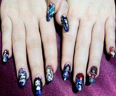 Disney nails by inga-na.deviantart.com on @deviantART