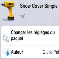 Offrez de la couleur à votre lockscreen grâce au tweak Snow Cover Simple - http://www.applophile.fr/offrez-de-la-couleur-a-votre-lockscreen-grace-au-tweak-snow-cover-simple/