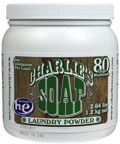 Laundry detergent - Charlies soap