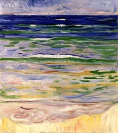 Waves, Edvard Munch - 1908