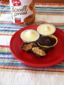 Biscoff Filled Chocolate Cup