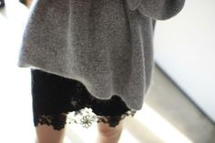 knits and lace