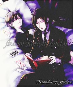 Black Butler - Ciel and Sebastian