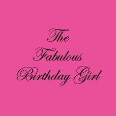 Ink On Paper - Birthday Fabulous Girl (IP38)