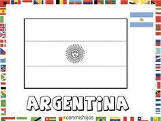 Imagenes De Banderas Para Colorear