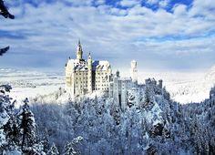 Neuschwanstein Castle in Fussen Germany. Breathtaking
