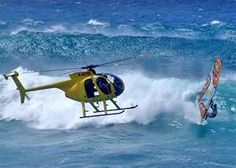 Go on a helicopter ride.