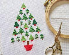 A Christmas tree of Christmas trees – so meta.