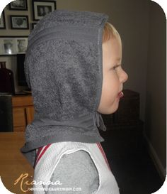 Hand Made Tutorial: Child's knight costume cowl
