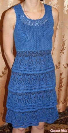 Blue dress 1-4