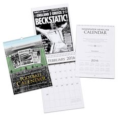 RRP £10.99         Personalised A4 Football Club Calendar This is an ideal gift for every true football club fan and a great way for them to stay super-organised all year round