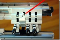 how to adjust passap duomatic duo 80 four color changer step 1 control lever nubs