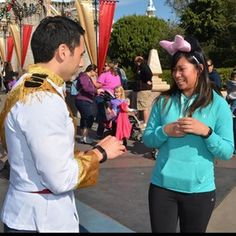 One of you could get dressed up like a prince: | 24 Ways To Get Engaged At The Disney Parks That Are Totally Magical